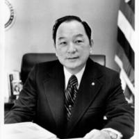 Representative Spark Matsunaga in office