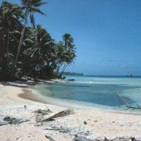 Beach on Satawal - 07