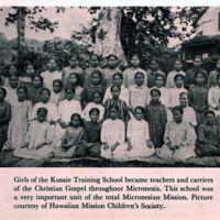 Girls of the Kusaie Training School