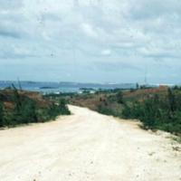 Road down from Lamlam, Guam. Jan 1950