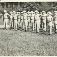 A formation of 720th M.P. Battalion Camp, Yokohama,…
