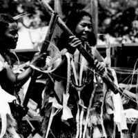 Yapese women dancers. Photo by Carl Viti. (N- 2634.04).