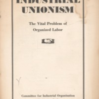 Industrial unionism: the vital problem of organized…