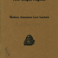 Advising a woman as to her legal rights.