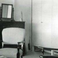 Rt. hand side of room #108. Asan, Guam. July 1949.