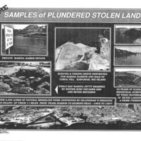 Some samples of plundered stolen lands!