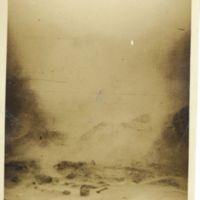 Kaizawa 2-055: Volcanic steam scenery of Noboribetsu…