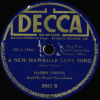 A New Hawaiian Love Song