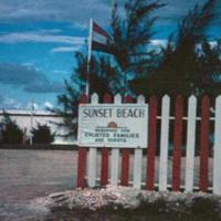 Enlisted men's beach. Saipan. 28 Oct. 1949