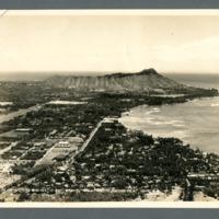 Waikiki Area and Diamond Head, Oahu