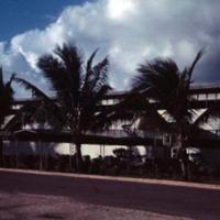 Flag Bldg. Com Mar glamorized, eh? Guam. 13 Nov.1949