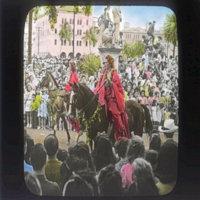 King Kamehameha Day with island princesses on horseback