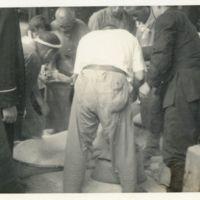 Kaizawa 2-138: Japanese policemen going through…