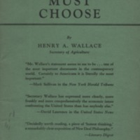 America must choose: the advantages and disadvantages…