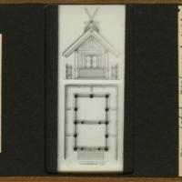 Elevation and plan of Sumiyoshi-Jinja