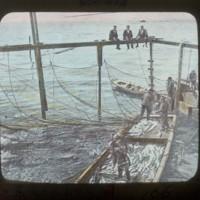 Japanese American's fishing: ○米日本人の漁業