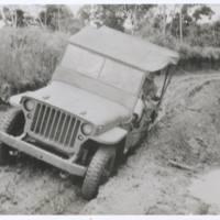 Mud tracks near Uberri (area where Japs [sic] made…