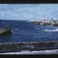 Eniwetok (Fred) Island - view to NE....