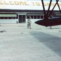 Departing. 14 Mar. 1950