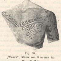 Waara, Mann von Kerrema im Papu-Golf