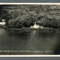 Captain Cook's Monument, Kealakekua Bay, Hawaii