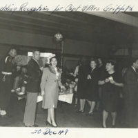 Wedding reception for Capt. & Mrs. Griffith, Tokyo…