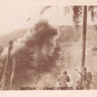 Marines firing guns