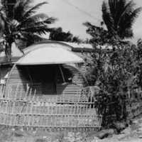 Two-bedroom quonset, Yap, 1963. (N-2676.06).