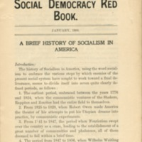 Social Democracy Redbook