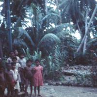 Yapese school children. Feb. 1951