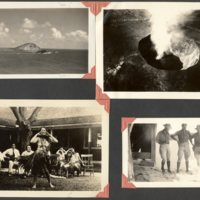 Page 30: Hawaiian volcano, hula dancer, Henry Warner