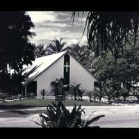 Chapel on Kwajalein Island.