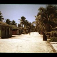 Two scenes along the main road in Ebeye village. [2nd…