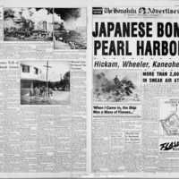 Japanese bomb Pearl Harbor!  Souvenir Edition Special…