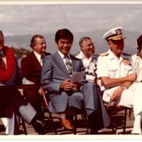 """Senator Spark Matsunaga, State Rep. Richard """"Ike""""…"""