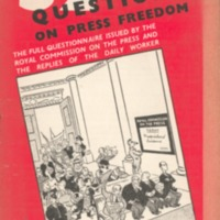 32 questions on press freedom: the full questionnaire…